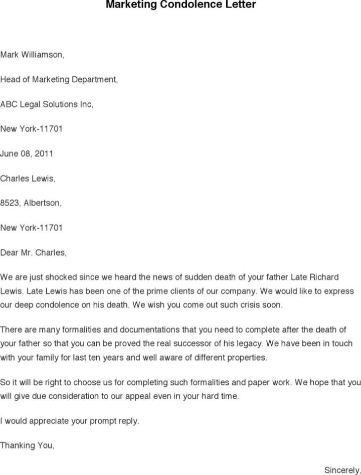 Doc12411755 Condolence Sample Note Religious Condolence – Condolence Letter Sample