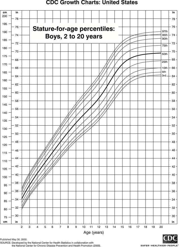 6+ CDC Growth Chart Free Download
