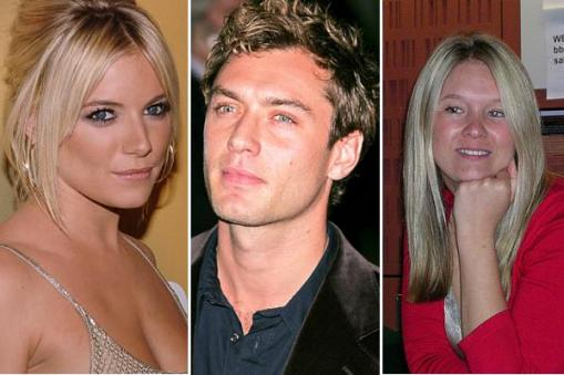 Image result for sienna miller and jude law and the daisy wright