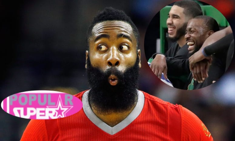 A Flu Ridden James Harden POOPED His Pants During A Game Against Boston Celtics! (Pics) -