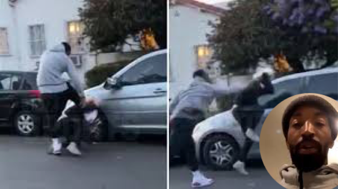 NBA Star J.R Smith Beat Up White Guy Who Broke His Truck Window During LA Protest! (Video) - NBA Star J.R Smith Beat Up White Guy Who Broke His Truck Window During LA Protest! (Video)