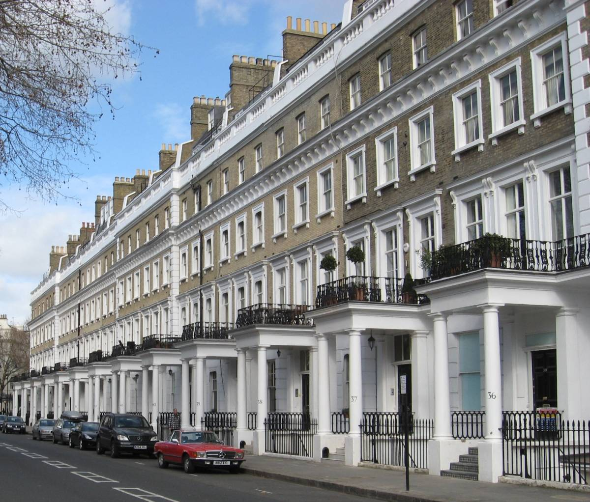 West London Serviced Apartments Portland Brown