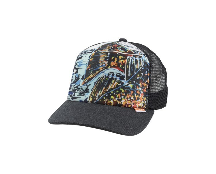 Simms Artist Trucker Hat Black Bow River Troutfitters Inc