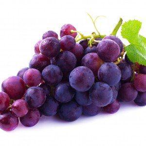 grapes brow chakra food