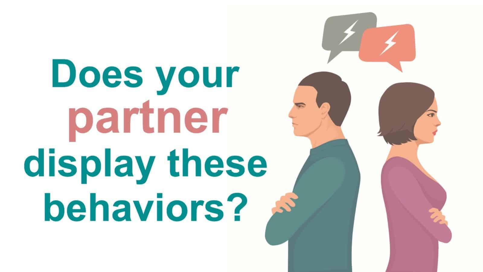 10 Signs Your Partner Has A Passive Aggressive Personality