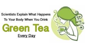 green tea to reduce eye pain