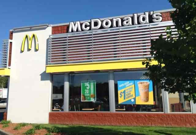 mcdonald's truck uses oil from fryer to run