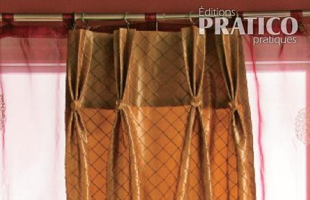 comment fabriquer un rideau plisse je