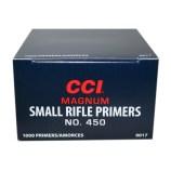 CCI 450 Small Rifle Magnum Primers (Box of 1,000) ***Limit 5,000 Per  Customer Per Day*** - Precision Reloading