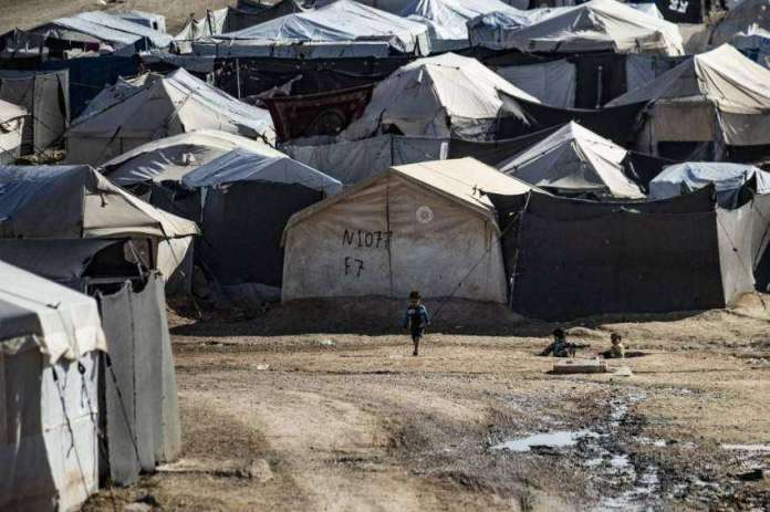 Sphinx camp in Syria - AFP.