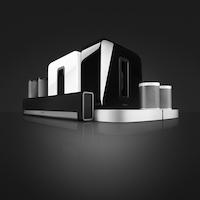 Sonos nueva familia con PLAYBASE blanco