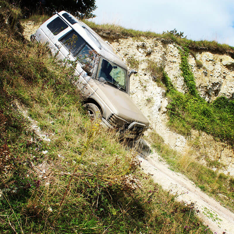 One Hour Off Road One To One Driving Experience In Kent