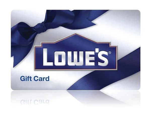Image result for lowes gift card image