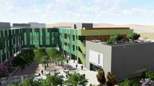new Integrated Education and Research Building in Phoenix