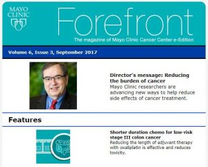 New Issue Of Forefront Magazine