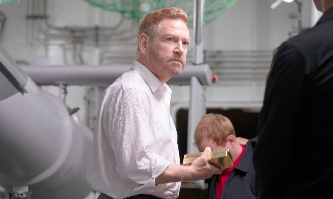 Andrei Sator de la película Tenet de Christopher Nolan