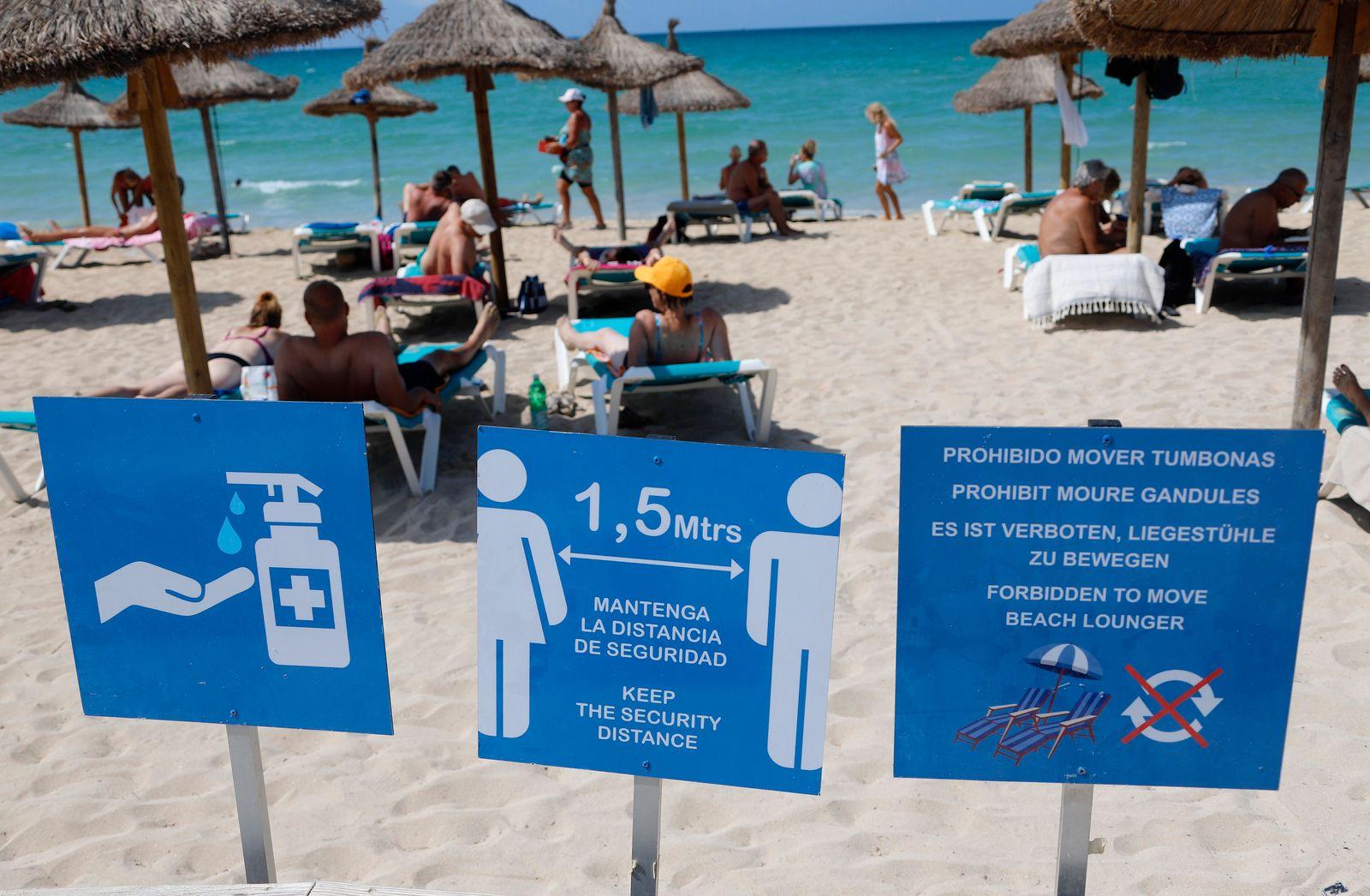 tui will trotz coronavirus bereits zu ostern nach mallorca fliegen manager magazin