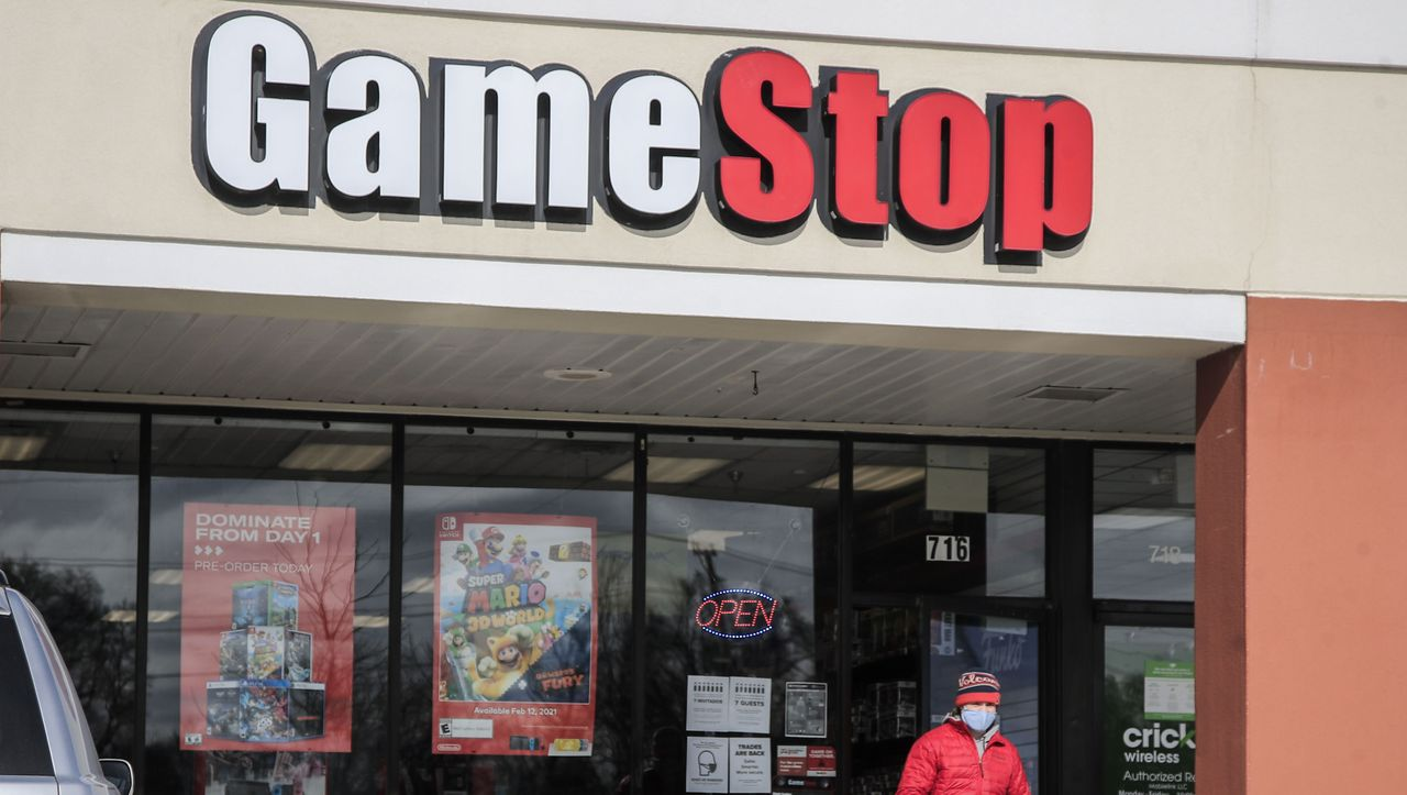 GameStop fans learn from the mining company
