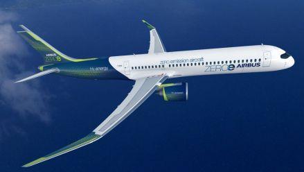 Airbus plant Wasserstoff-Flugzeug