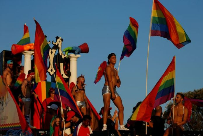 Pride parade in Malta's capital Valletta in September 2018: The country has some of the most progressive LGBTQI laws in the world - but the strictest laws in the EU apply to abortion