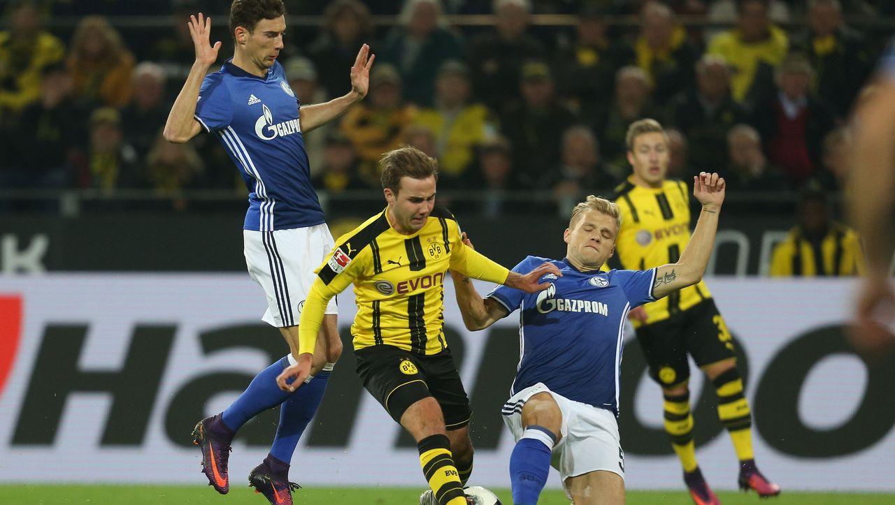 Bundesliga Borussia Dortmund Und Schalke 04 Mit Gesunder Harte