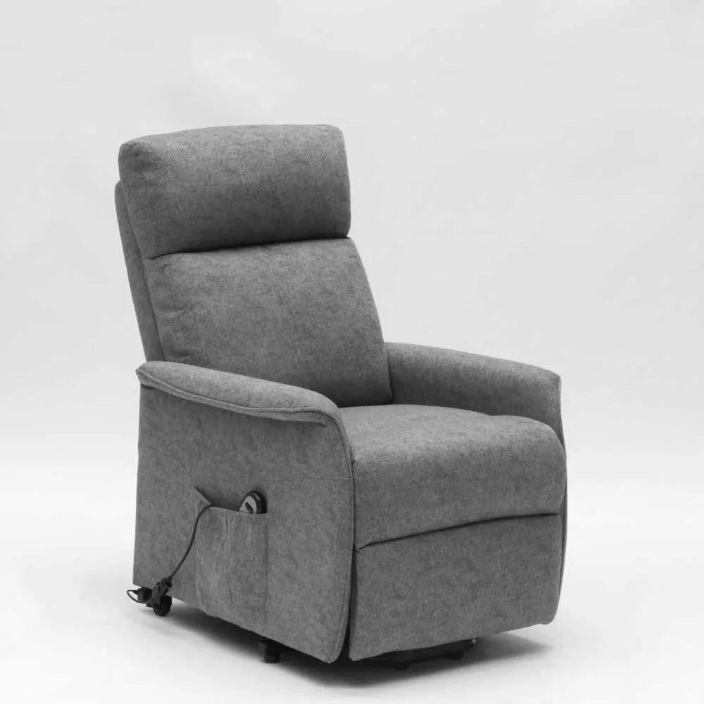fauteuil relax electrique avec systeme releveur et roulettes pour personnes agees giorgia