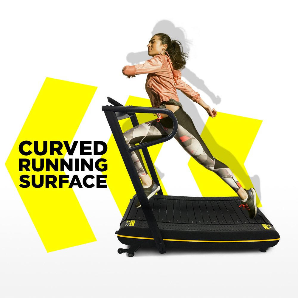 tapis roulant courbe de remise en forme magnetique pliable d entrainement fonctionnel evilseed