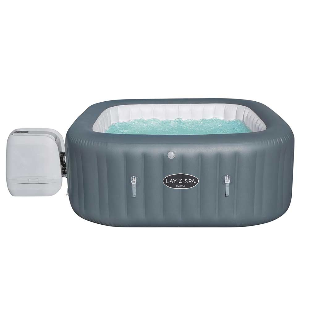 lay z spa hawaii hydrojet pro 6 places bestway 60031 hydromassage gonflable 180x71cm