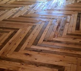 Pallet Flooring  Everything You Need To Know wood pallet flooring