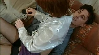 Redhead in stockings gets it in_the ass Preview Image