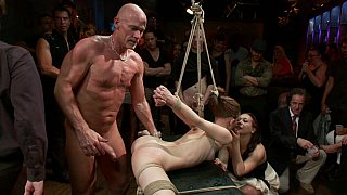 Super flexible Sensi Pearl gets tied_up and fucked Preview Image