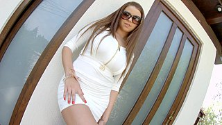 Marina Visconti in_upskirt teasing Preview Image