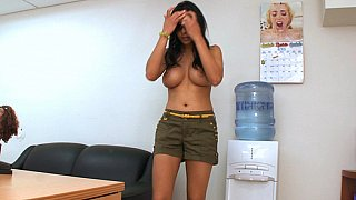 Lacey Cruz in BangBros offices Preview Image