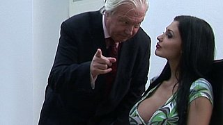 Oral sex with help of their boss Preview Image