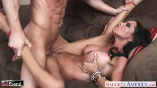 Tattooed chesty brunette babe Brandy Aniston Preview Image