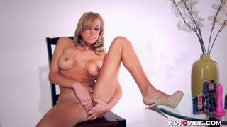 Brett Rossi testing an orgasmic toy Preview Image