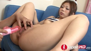 Playing with a squirting Asian pussy Preview Image