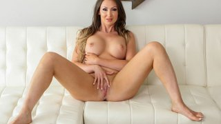 MILF with big tits gets oiled up and rubbed down with Nuru Preview Image