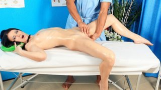 Sexy babe in real hot porn massage movie Preview Image