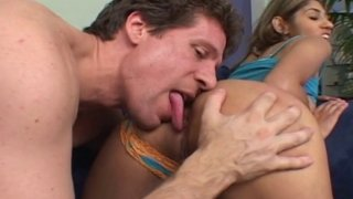 Hardcore fuck of tight hot MILF with juicy pussy licked and deep pounded with big dick Preview Image