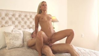 Beautiful blonde Dido Angel gets all dressed up then undresses and takes her man on a fuckfest... Preview Image