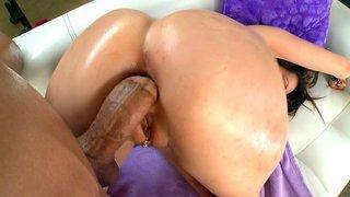 Anal MILF Courtney Cummz takes stiff cock in her ass doggie Preview Image
