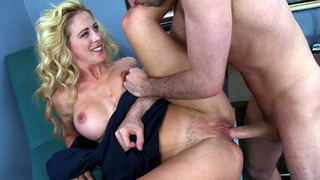 Cute MILF Cherie DeVille gets her hairy cunt_slammed Preview Image