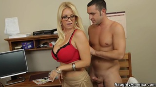 Oral sex lesson with my hot blonde teacher Preview Image