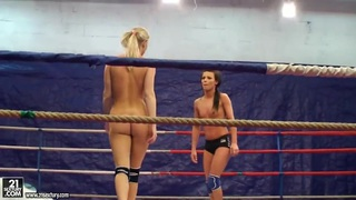 Topless teen_chicks in a nude fight club_video Preview Image