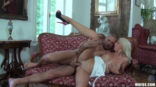 Hot blonde got her cunt licked and fucked hard Preview Image