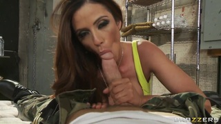 Ariella Ferrera says she'll do anything for a spot in Johnny's bunker Preview Image