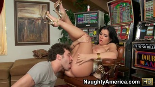 James Deen eats out and bangs Rebeca Linares Preview Image