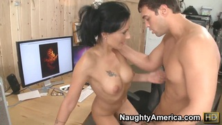 Zoey Holloway is teaching the boy how to fuck Preview Image