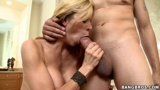 Alexis Fawx tries to get sperm out of this stick Preview Image